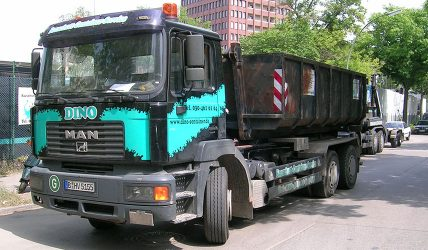 Abroller Container Transporter